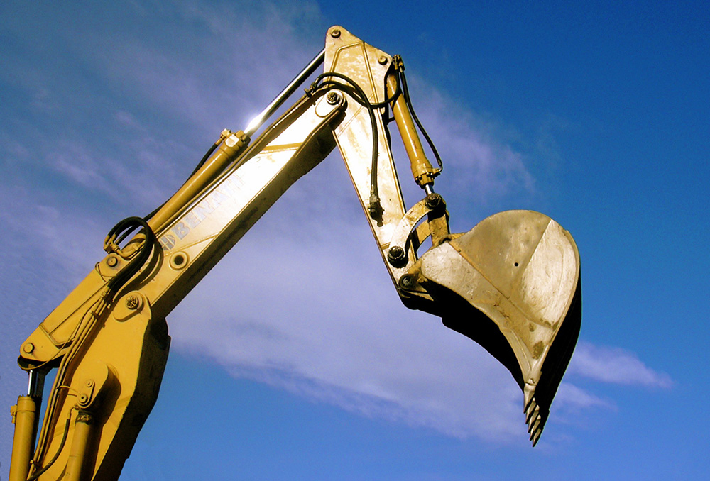 excavation equipment for site development